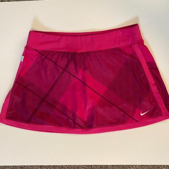 Nike Athletic Tennis Skirt Skort Medium